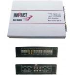 AMPLIFICATORE IMPACT LX 60.4 - 4 CANALI 700 WATT
