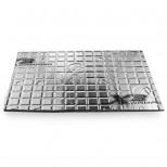STEG X3 2,2mm Isolante Acustico Butile alluminio 1pz, 82x46cm, 4.37Kg/m²