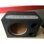 BASS FACE BOX per Subwoofer 38 cm in cassa reflex sub auto incassato BR15-90