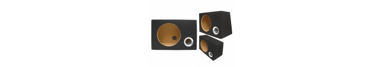 box vuoti per subwoofer in mdf